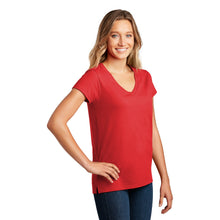 Load image into Gallery viewer, District ® Women's Re-Tee ™ V-Neck - Ruby Red