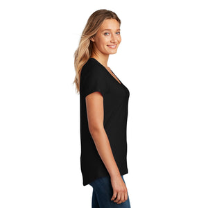District ® Women's Flex Scoop Neck Tee - Black