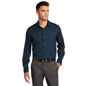 Port Authority ® City Stretch Shirt- River Blue Navy