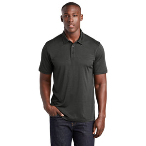 Sport-Tek ® Endeavor Polo-Black Heather