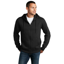 Load image into Gallery viewer, District ® Perfect Weight ® Fleece Full-Zip Hoodie - Jet Black
