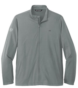 CAPELLA Travis Mathew Surfside Full-Zip Jacket -Quiet Shade Grey Heather