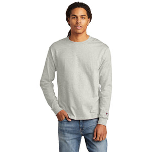 Champion ® Heritage 5.2-Oz. Jersey Long Sleeve Tee - Oxford