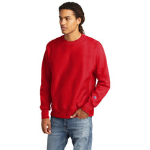 Load image into Gallery viewer, Champion ® Reverse Weave ® Crewneck Sweatshirt-RED