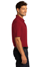Load image into Gallery viewer, CAPELLA City Stretch Polo - Garnet