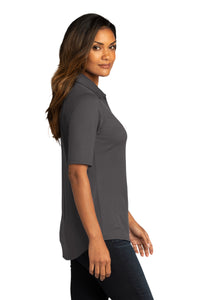CAPELLA Ladies City Stretch Top - Graphite