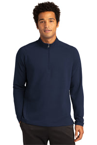 CAPELLA Sport-Tek® Sport-Wick® Flex Fleece 1/4-Zip - Navy