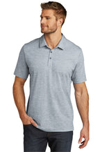 Load image into Gallery viewer, CAPELLA Travis Mathew Oceanside Heather Polo - Quiet Shade Grey Heather