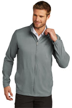 Load image into Gallery viewer, CAPELLA Travis Mathew Surfside Full-Zip Jacket -Quiet Shade Grey Heather