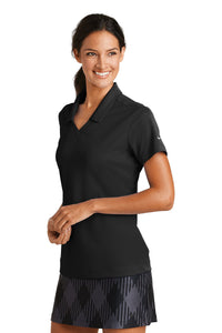 Nike Ladies Dri-FIT Micro Pique Polo - Black