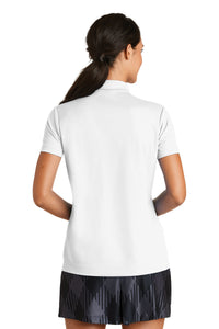Nike Ladies Dri-FIT Micro Pique Polo - White