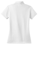 Load image into Gallery viewer, Nike Ladies Dri-FIT Micro Pique Polo - White