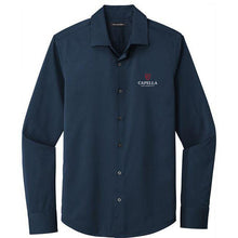 Load image into Gallery viewer, Port Authority ® City Stretch Shirt- River Blue Navy