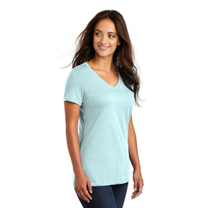 District ® Women's Perfect Weight ® V-Neck Tee - Seaglass Blue