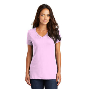 District ® Women's Perfect Weight ® V-Neck Tee - Soft Purple
