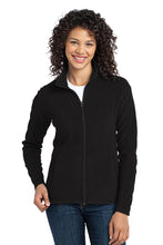 Load image into Gallery viewer, Port Authority® Ladies Microfleece Jacket - Black