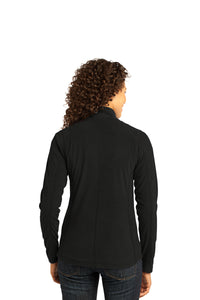 Port Authority® Ladies Microfleece Jacket - Black