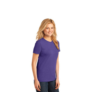 Port & Company® Ladies Core Cotton Tee - Purple