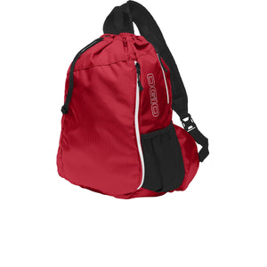 OGIO® Sonic Sling Pack - Deep Red/ Black