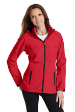 Load image into Gallery viewer, Port Authority® Ladies Torrent Waterproof Jacket - Engine Red