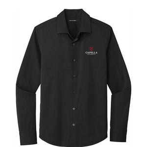 Port Authority ® City Stretch Shirt- Black