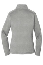 Load image into Gallery viewer, CAPELLA ALUMNI The North Face® Ladies Tech 1/4-Zip Fleece - Asphalt Grey Heather