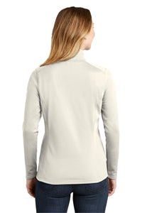CAPELLA ALUMNI The North Face® Ladies Tech 1/4-Zip Fleece - Vintage White