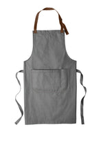 Load image into Gallery viewer, CAPELLA Full-Length Bib Apron - Ash Grey