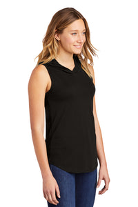 District ® Women's Perfect Tri ® Sleeveless Hoodie - Black