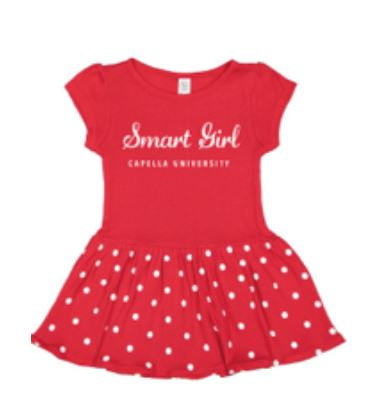 CAPELLA INFANT BABY RIB DRESS - RED