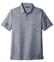 Load image into Gallery viewer, CAPELLA Travis Mathew Oceanside Heather Polo - Blue Nights Heather