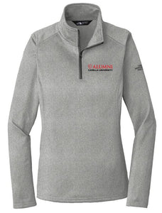 CAPELLA ALUMNI The North Face® Ladies Tech 1/4-Zip Fleece - Asphalt Grey Heather