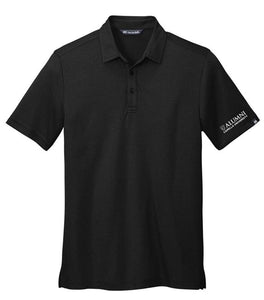 CAPELLA ALUMNI Travis Mathew Coto Performance Polo - Black