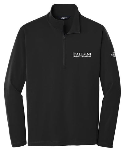 CAPELLA ALUMNI Men's The North Face® Tech 1/4-Zip Fleece - TNF Black