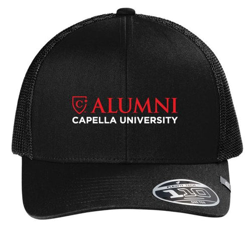 CAPELLA ALUMNI Travis Mathew Cruz Trucker Cap - Black