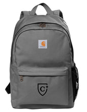 Load image into Gallery viewer, CAPELLA Carhartt® Canvas Backpack - Grey