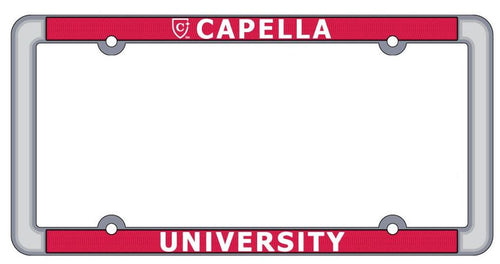 CAPELLA License Plate Frame - This product ships End of March