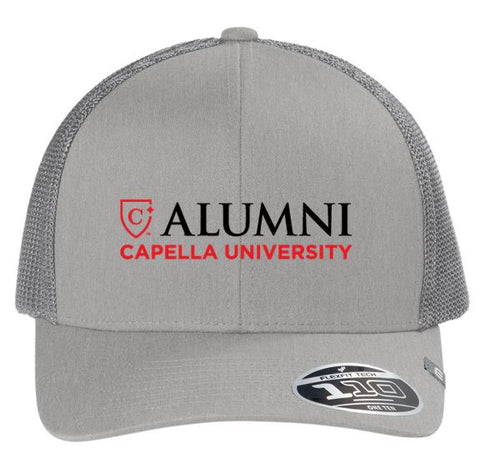 CAPELLA ALUMNI Travis Mathew Cruz Trucker Cap - Heather Grey