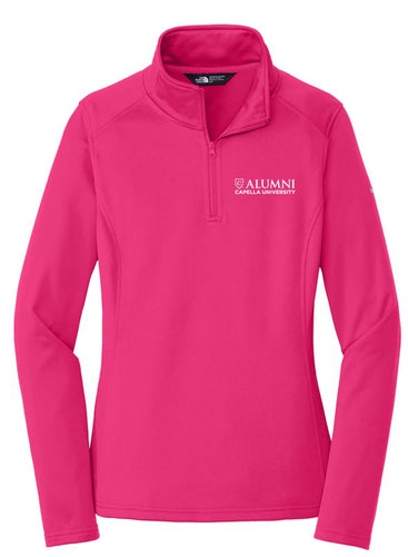 CAPELLA ALUMNI The North Face® Ladies Tech 1/4-Zip Fleece - Petticoat Pink