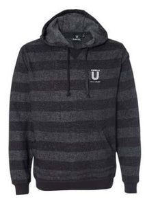Burnside - Mens Printed Stripes Fleece Sweatshirt