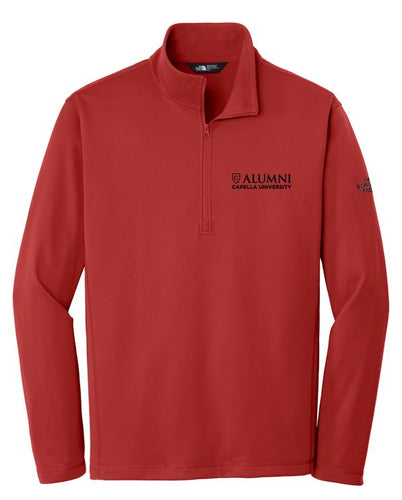 CAPELLA ALUMNI Men's The North Face® Tech 1/4-Zip Fleece - Cardinal Red