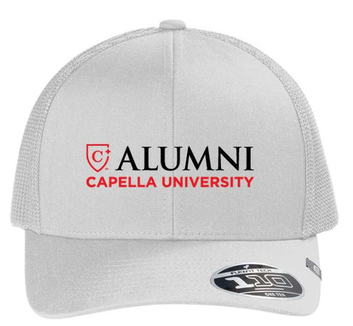 CAPELLA ALUMNI Travis Mathew Cruz Trucker Cap - White