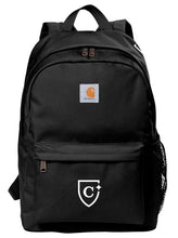 Load image into Gallery viewer, CAPELLA Carhartt® Canvas Backpack - Black