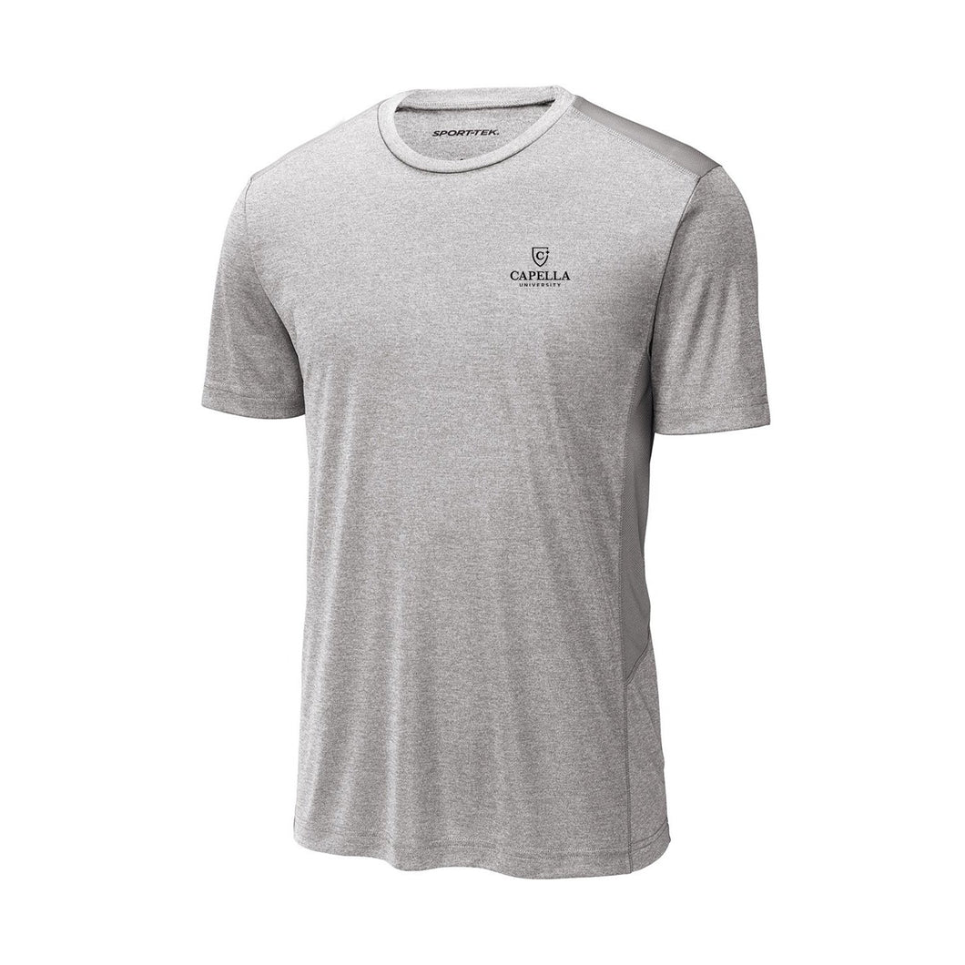 Sport-Tek ® Endeavor Tee - Light Grey Heather/ Light Grey