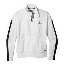 Load image into Gallery viewer, New Era ® Ladies Track Jacket - White/ Black
