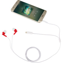 Load image into Gallery viewer, Wired Earbuds with Multi-Tips - RED