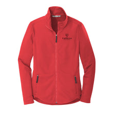 Load image into Gallery viewer, Port Authority ® Ladies Collective Smooth Fleece Jacket - Red Pepper