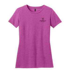 District ® Women's Perfect Blend ® Tee - Heathered Pink Raspberry