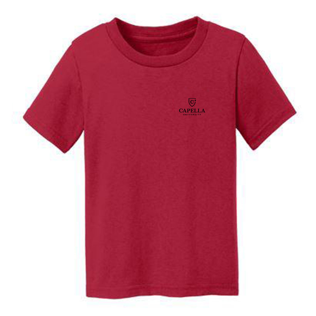 Port & Company® Toddler Core Cotton Tee-RED