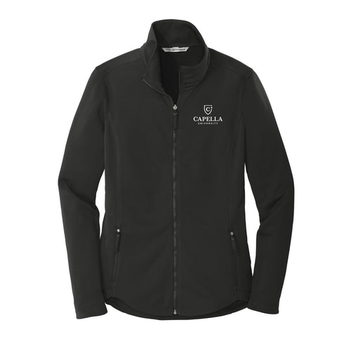 Port Authority ® Ladies Collective Smooth Fleece Jacket - Deep Black